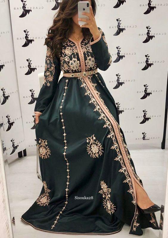 Offrez vous les meilleurs et dernières créations du caftan marocain style  moderne  255506de48f