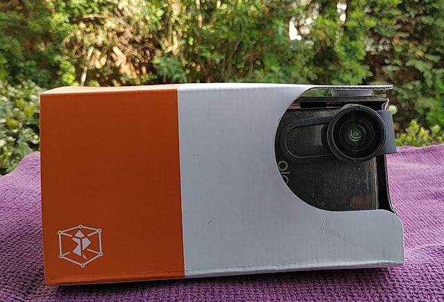 Zapbox 2.0 Mixed Reality Cardboard Headset Amongst Clip On Fisheye Lens