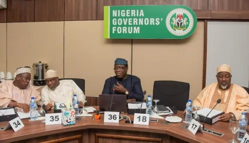 Governors meet tomorrow to create new national security order