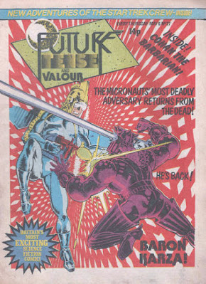 Future Tense and Valour #27, the Micronauts