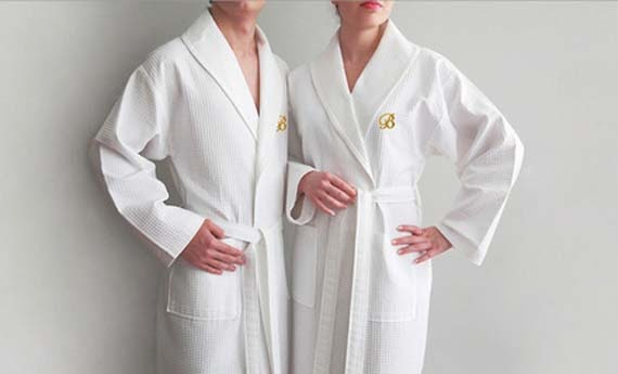 Luxury Bathrobes Monogrammed picture