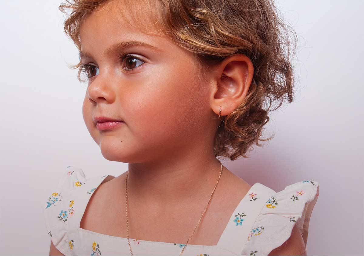 Hoop earring for your baby