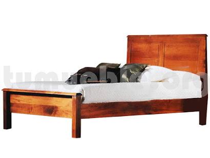 cama madera teca 4066