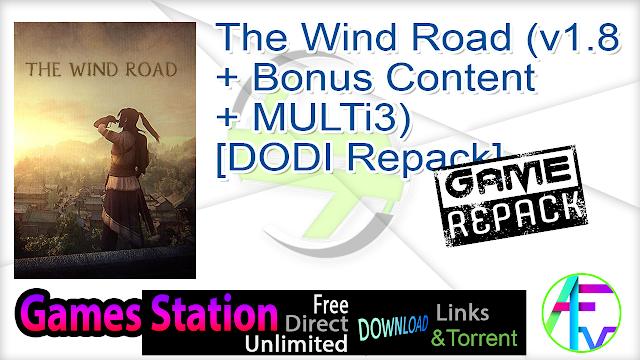 The Wind Road (v1.8 + Bonus Content + MULTi3) – [DODI Repack]