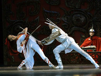 Chinese Sword Dance