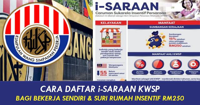 cara daftar i-saraan kwsp