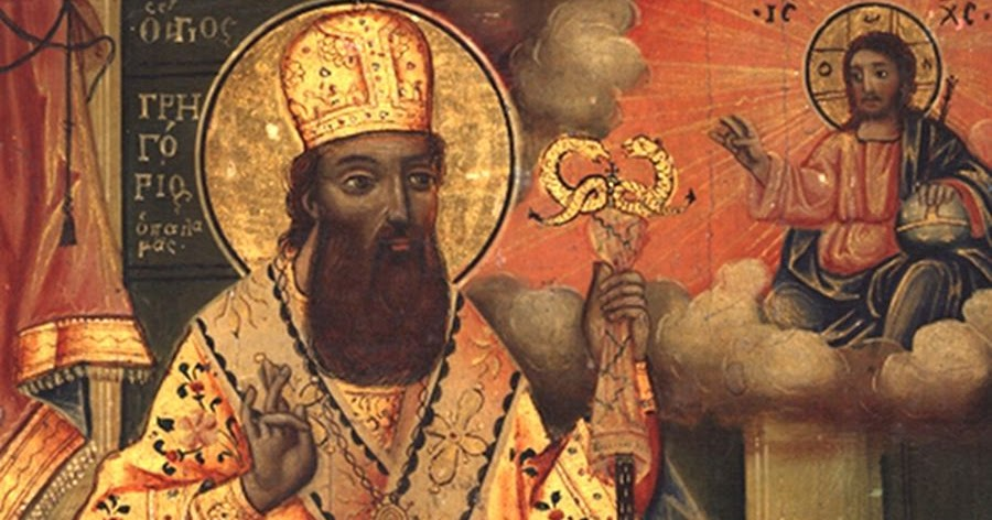 St. Gregory Palamas and the Healing of the Hieromonk with ...