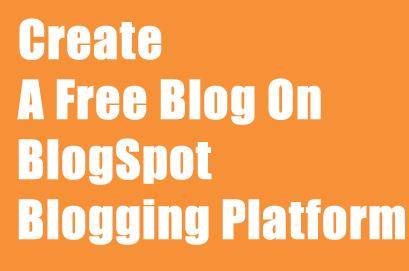 Cara membuat Blog Gratis (Blogspot) di Blogger