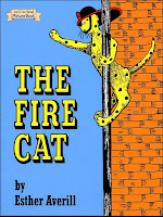 book cover of The Fire Cat with Pickles