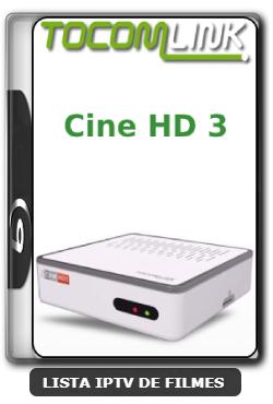 Tocomlink Cine HD 3 Nova Atualização Satélite SKS Keys 61w ON V1.009 - 24-03-2020