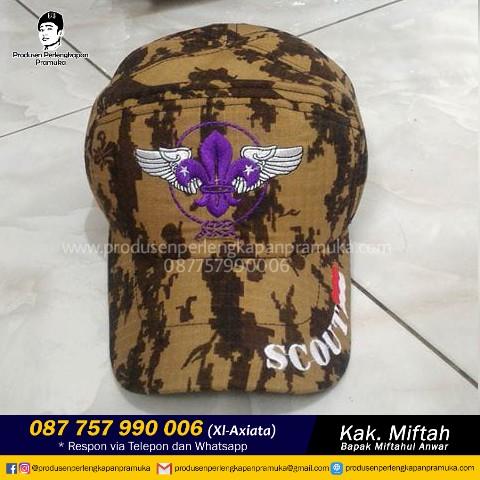 Topi Loreng Pramuka Scout
