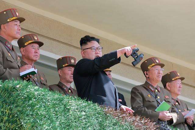 """В Северной Корее прошла акция """"Бессмертный полк"""""""
