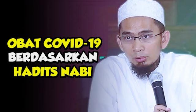 Ustadz Adi Hidayat Bongkar Obat Covid-19 Berdasarkan Hadits Nabi