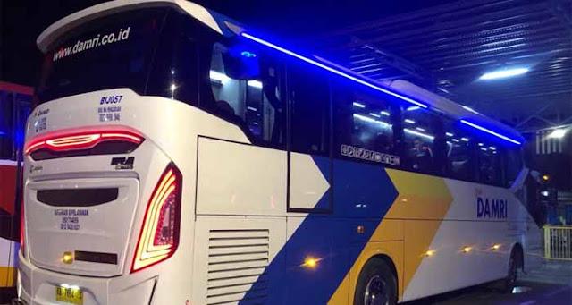 Bus Damri Pangkalan Bun Pontianak