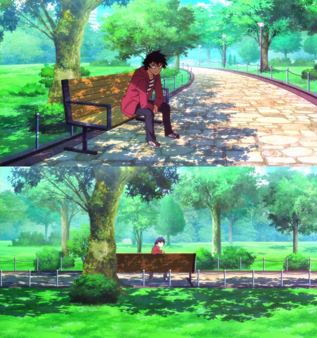 470+ Gambar Animasi Kursi Ditaman Gratis Terbaru