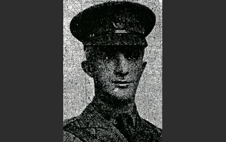 Harry Greener, Stanley News, 26 April 1917