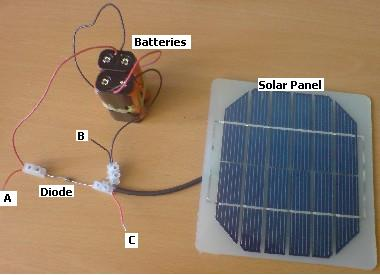Homemade Solar Battery Charger Renewable Energy
