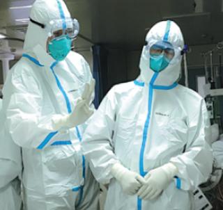 Pakaian kedap virus atau PPE