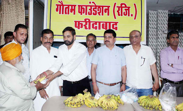 Gautam Fountain delivered fruits in the ashram: Dev Singh Gusai