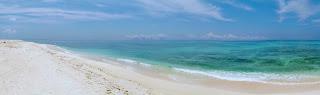 はての浜、久米島。 Hatenohama beach, Kume island, Okinawa