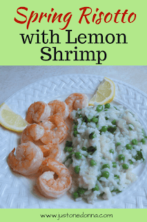 Risotto and Lemon Shrimp