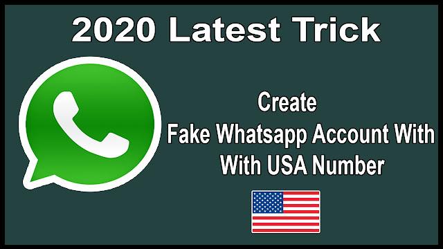 How To Create Fake Whatsapp Account