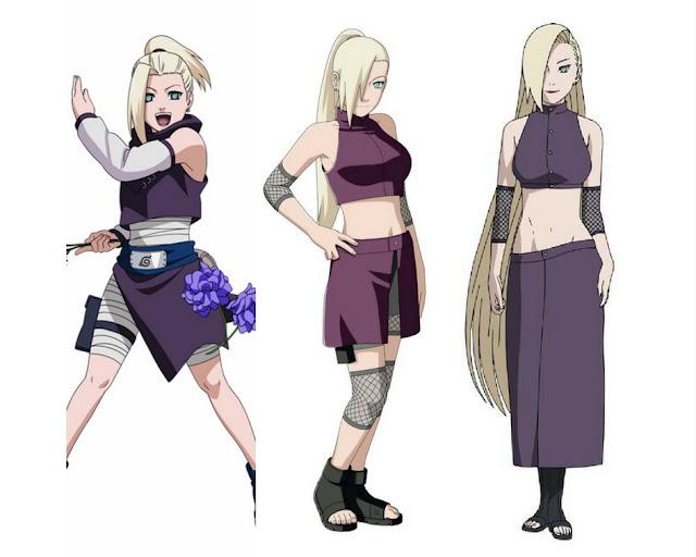 Ino-Yamanaka-evolução-anime-Naruto
