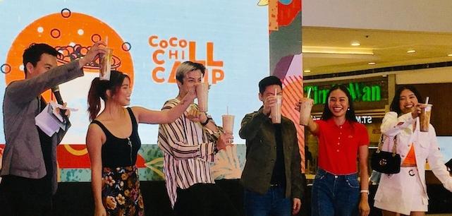 Coco Chill Champ at SM Megamall