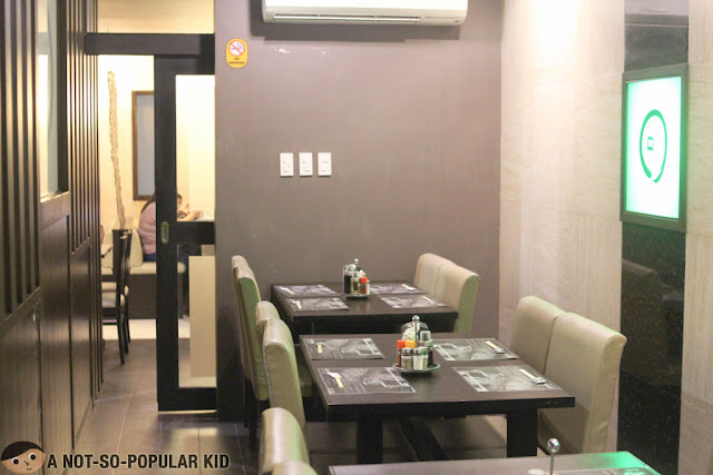 Interior of Ramen Kuroda in Aguirre, BF Homes, Paranaque