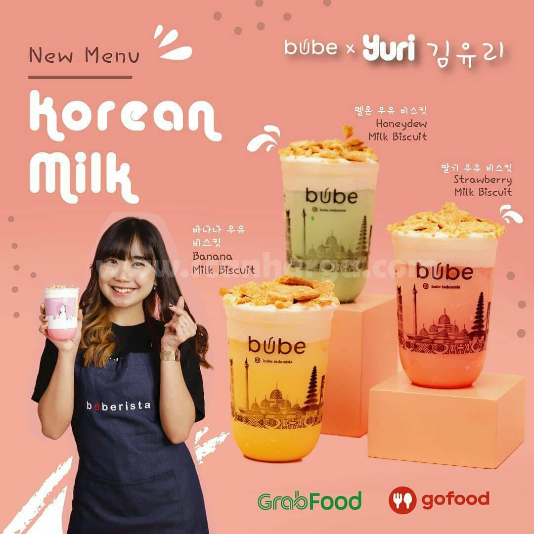 BUBE x ZHRYURIVA Promo Korean Milk Biscuit Series! harga mulai Rp 20K