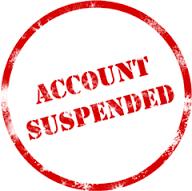Cara mengatasi akun suspend