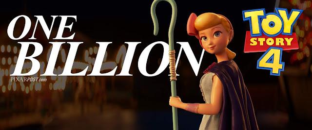 Toy Story 4 Crosses 1 Billion in Box Office Revenue
