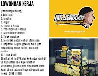 Bursa Kerja Surabaya Terbaru di Mr. Jenggot Martabak dan Terangbulan November 2019