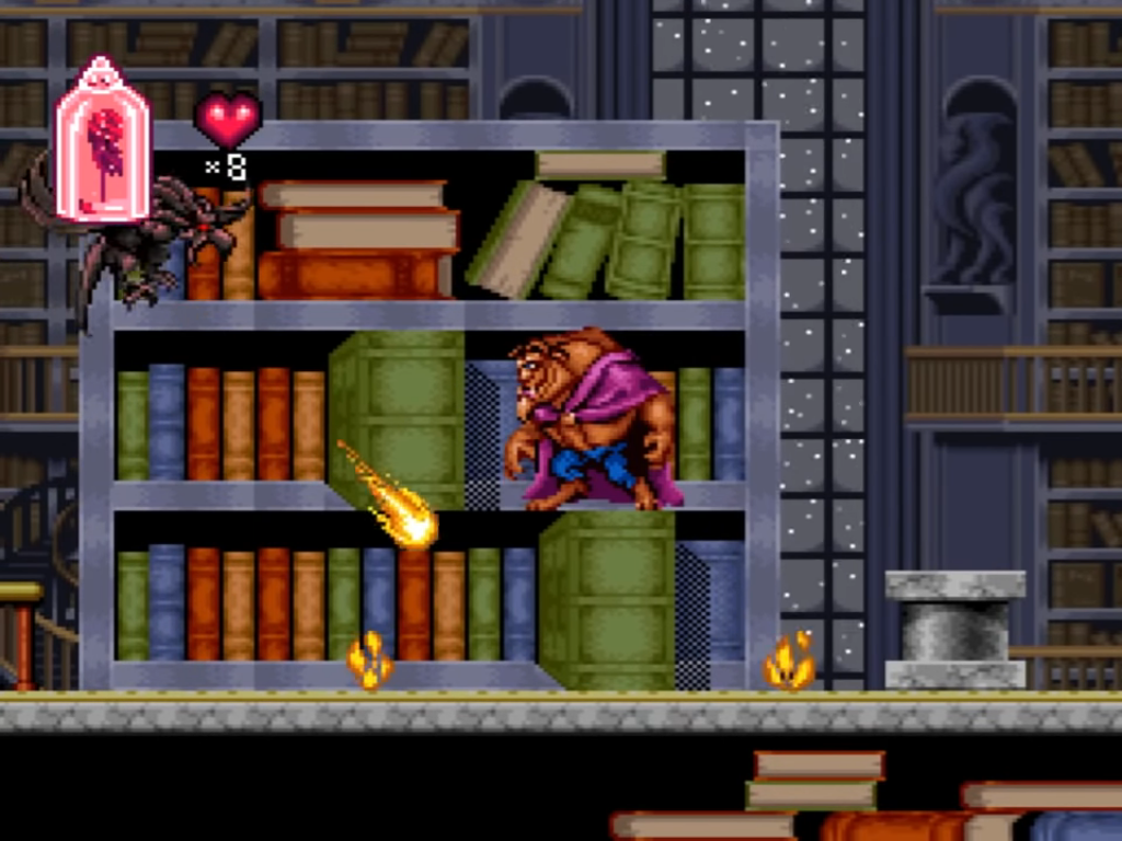 Disney's Beauty and the Beast (SNES)