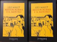 Logo Gioca e vinci gratis copie del romanzo ''Nestor Burma e il mostro'' di Léo Malet