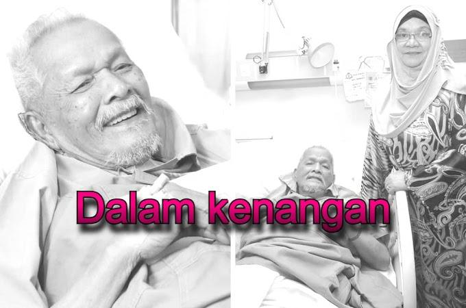 Dukacita Pelakon Veteran Datuk Baharuddin Omar Meninggal Dunia