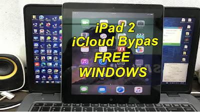 iPad 2 GSM-CDMA iCloud Bypass Windows iOS9.3.5 iCloud Free