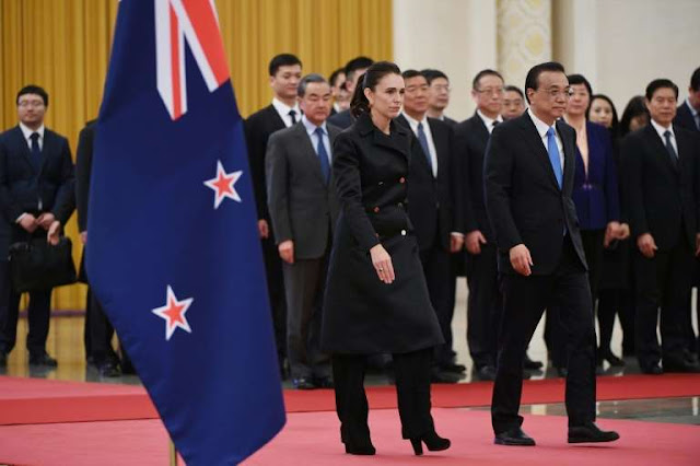 New Zealand urges Australia to 'show respect' to China