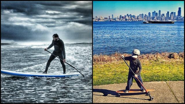 land paddling boards