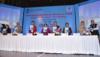 "International Summit on Women in STEM ""Visualizing the Future New Skylines"" held in New Delhi"
