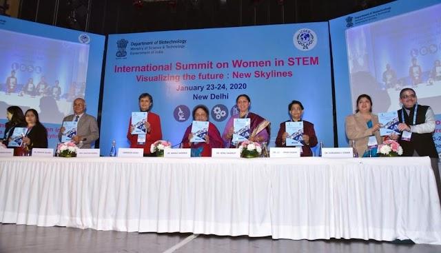 "International Summit on Women in STEM ""Visualizing the Future: New Skylines"" held in New Delhi"