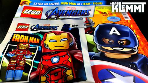 Magazin LEGO® Marvel Avengers Nr. 2 mit Foil-Pack