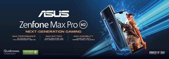 Harga Asus ZenFone Max Pro M2 RAM 3GB 4GB 6GB dan Spesifikasinya