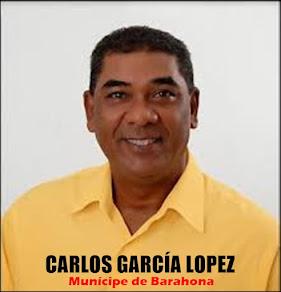 CARLOS GARCÍA LÓPEZ, MUNÍCIPE BARAHONERO