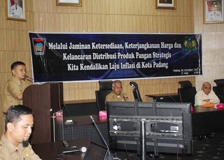 TPID Padang Upayakan Inflasi Tetap Terkendali