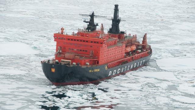 Rencana Rusia Kuasai Arktik Kedodoran
