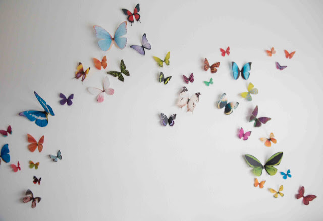 3D Butterfly Wall Nusery