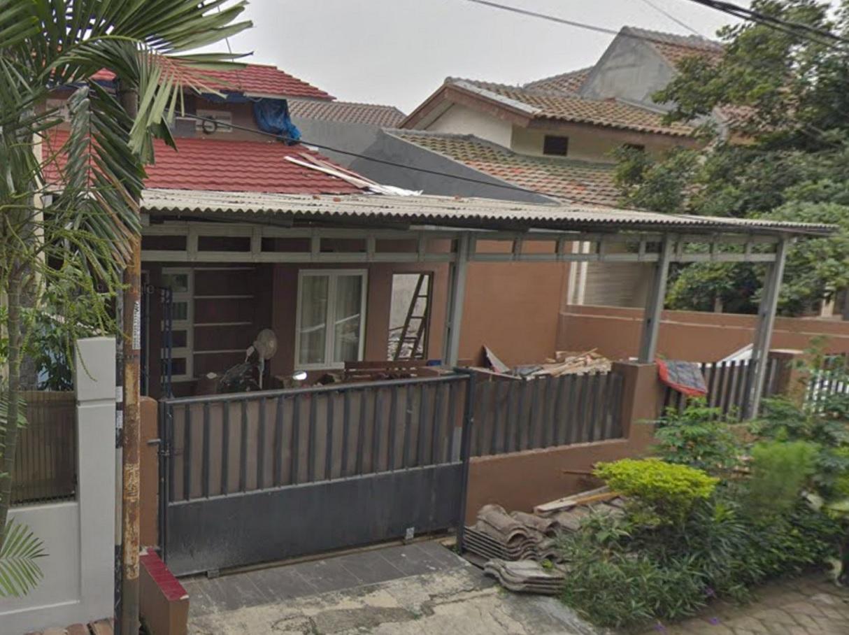 Hasil proyek Renovasi & pengembangan rumah 1 Lantai menjadi rumah 1 1/2 Lantai milik Bpk Iqbal di perumahan villa Bogor Indah, Bogor, Tahun 2013(foto via google street view @2019)