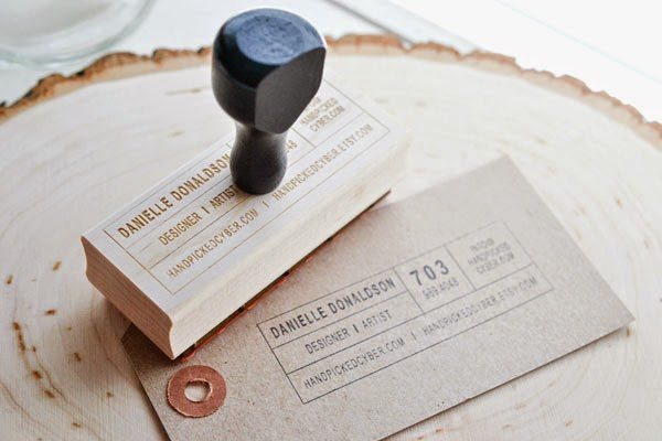 14 Custom Stamps to Make Your Own Business Cards - Jayce-o ...