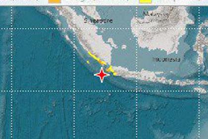 Innalillahi, Gempa 7,4 SR Guncang Banten, Berpotensi Tsunami
